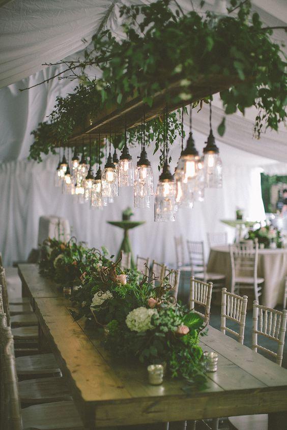 Rustic Wisconsin Backyard Wedding With Greenery