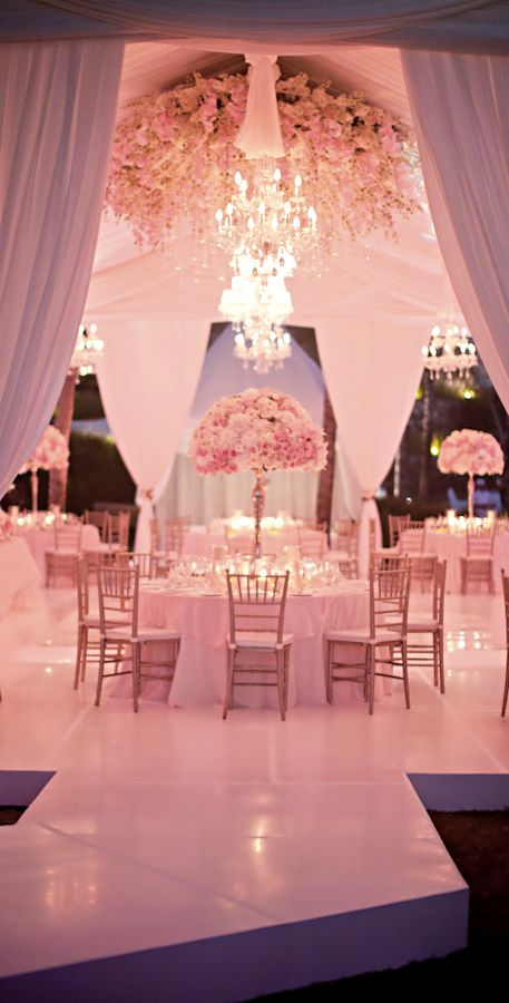 Simply Stunning Wedding Tent Reception