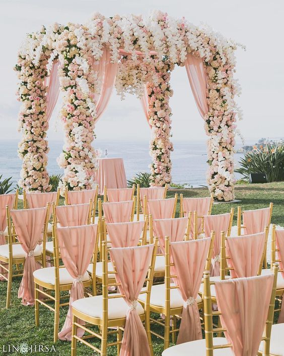 21 Totally Elegant Pink And Gold Wedding Color Ideas Page 3