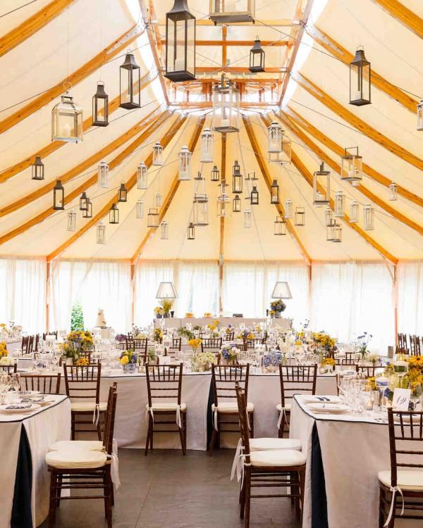 Wedding Tent Decorating Ideas