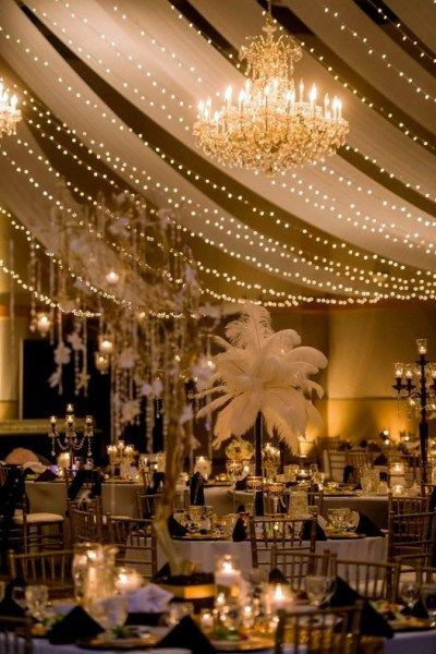 The Great Gatsby wedding of dreams wedding venue ideas