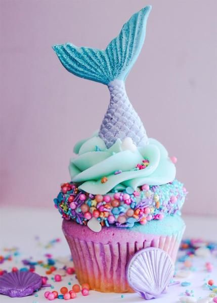 We need some Mermaid Cupcakes