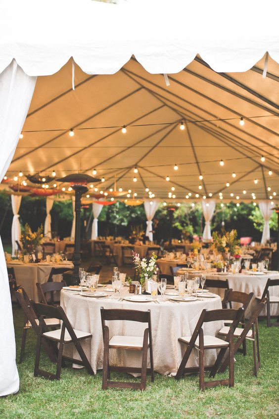 22 Outdoor Wedding Tent Decoration Ideas Every Bride Will Love!