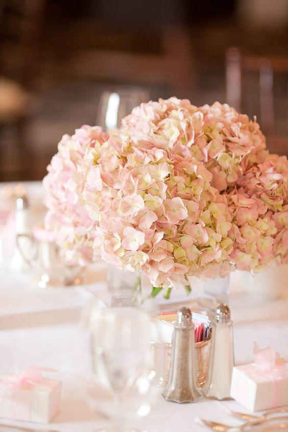 21 Simple Yet Rustic DIY Hydrangea Wedding Centerpieces Ideas - Page 2