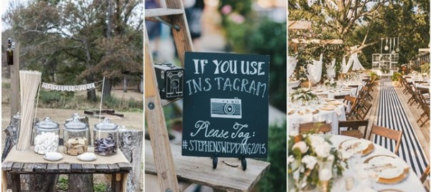 22 Rustic Backyard Wedding Decoration Ideas on A Budget