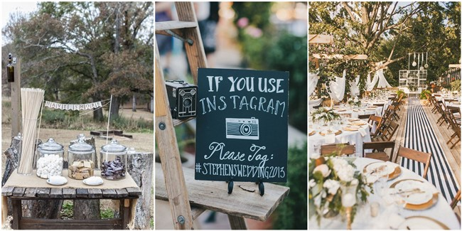 22 rustic backyard wedding decoration ideas on a budget junglespirit Choice Image