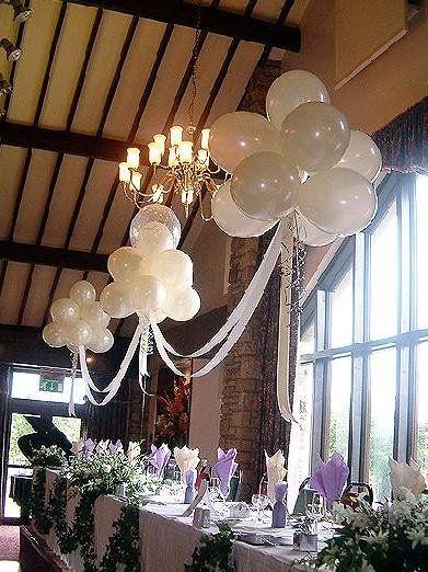 Garden Wedding Deco Ideas Part 1 Magical ballon clouds
