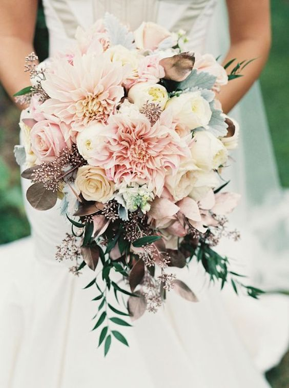 Holly Heider Chapple Flowers bouquets for fall wedding