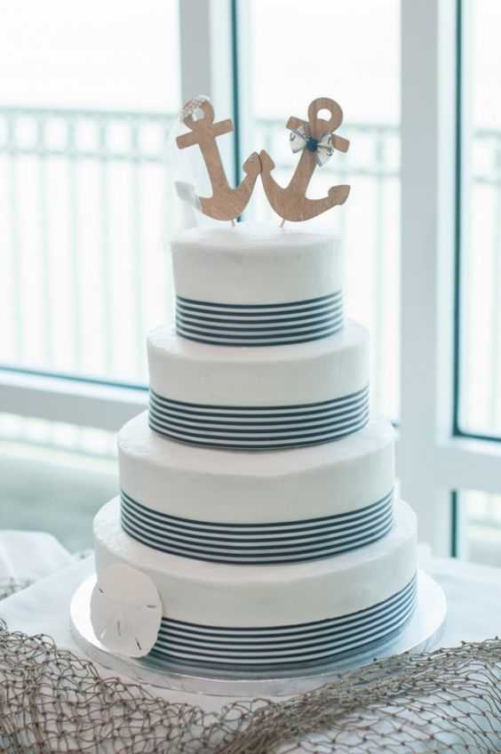 nautical wedding cake 24 nautical wedding ideas to rock your big day 17732