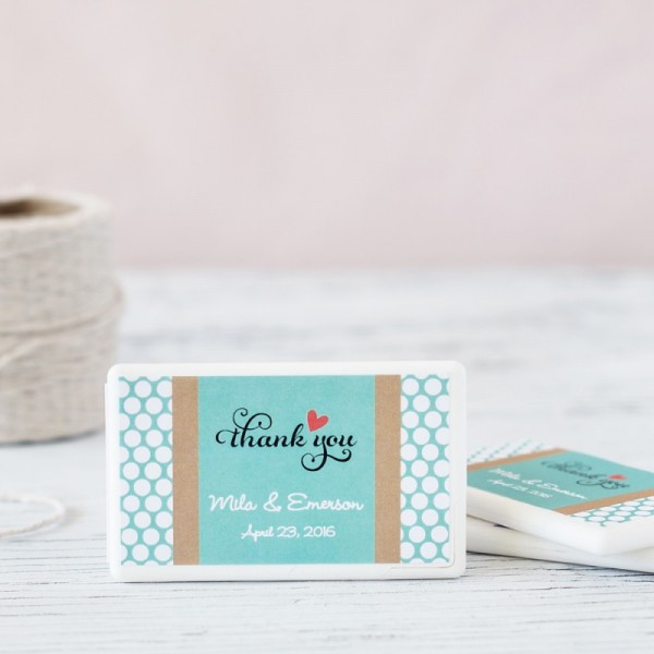 Personalized Wedding Mini Mint Pack