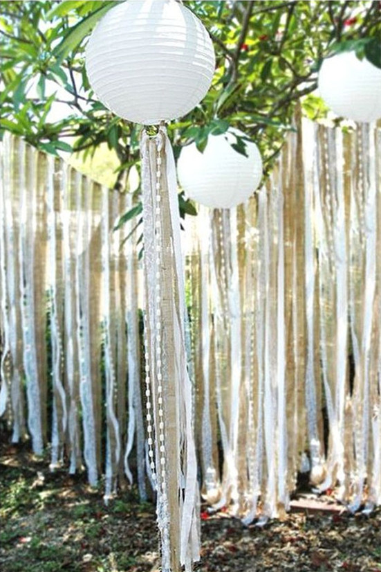 Rustic Burlap and Lace Wedding Ideas and Inspiration