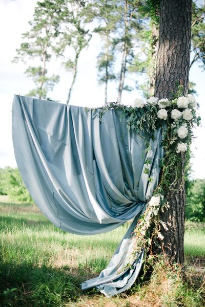 Summer Blues Wedding Inspiration by Sarah McKenzie