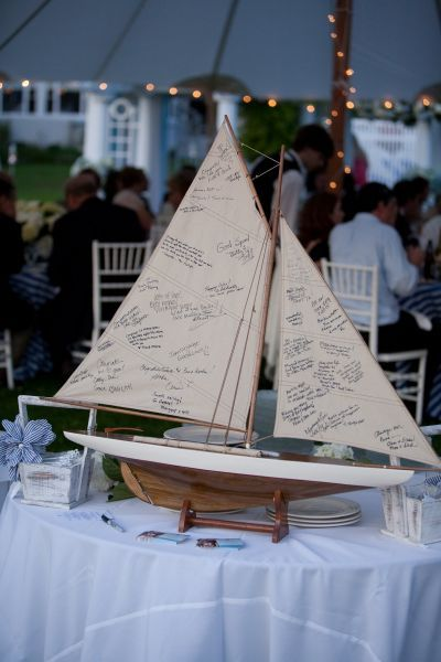 That's why I would do a beach themed wedding