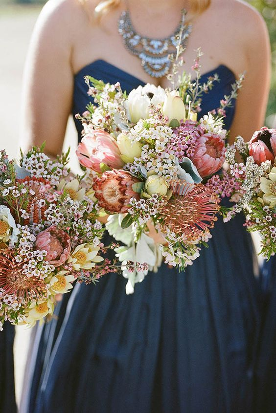 bright inspirational blooming fall wedding bouquets