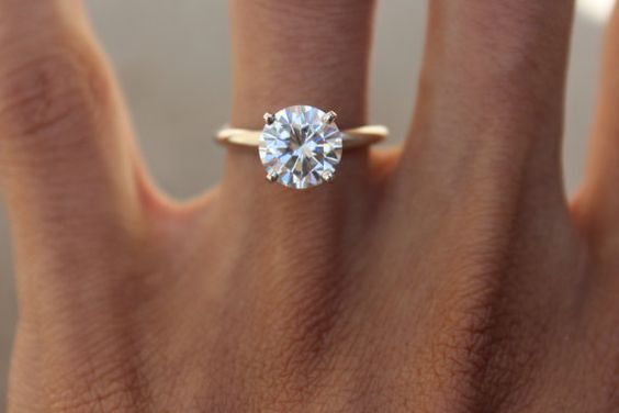 classic and elegant enegagement ring