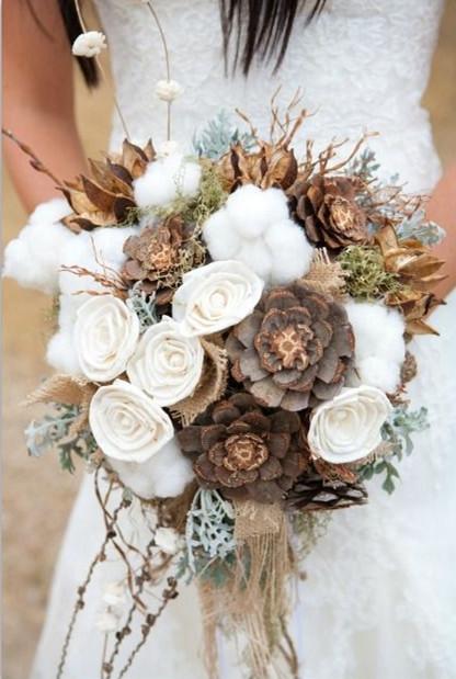 creative harvest fall wedding bouquets