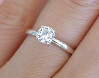cute simple engagement ring