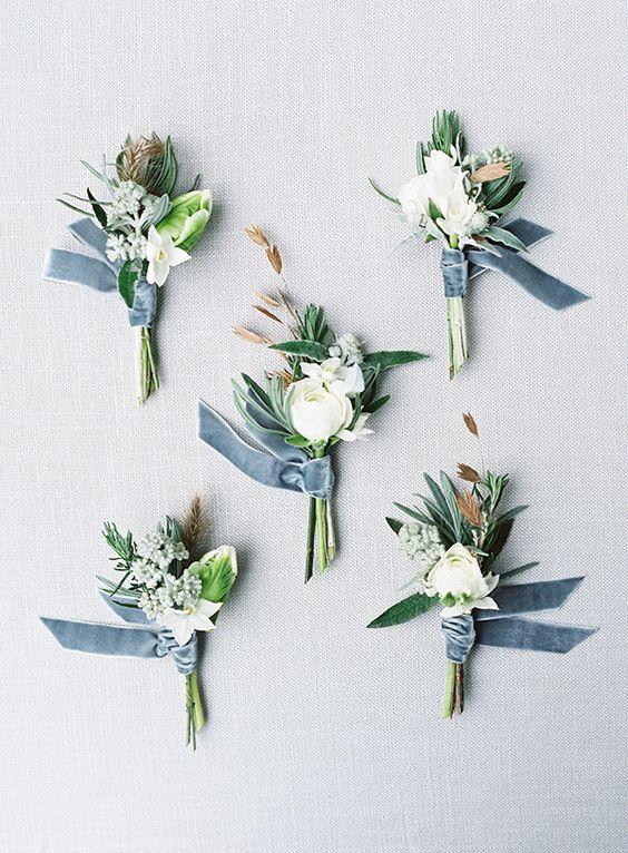 2020 Wedding Inspiration Dusty Blue Wedding Color Ideas