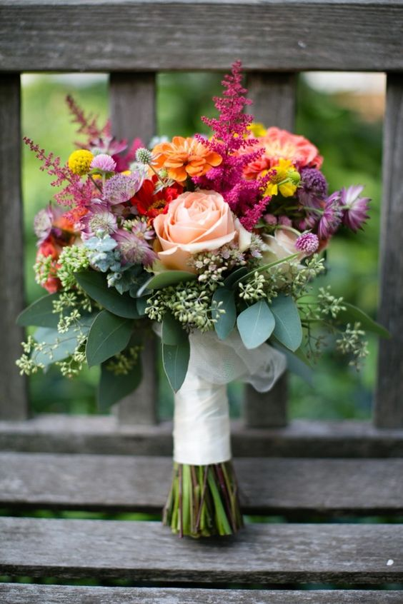 sweet spetember wedding bouquets