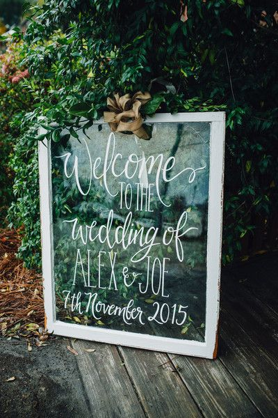 25 Awesome Wedding Welcome Signs to Rock! - Page 2 Fall Bridal Shower Themes
