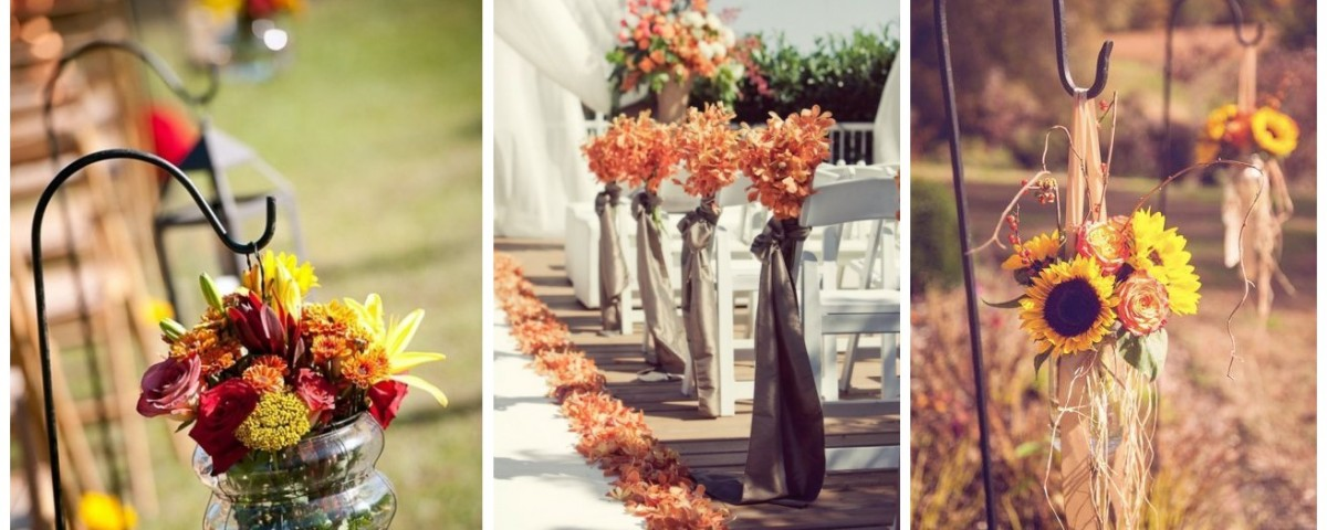 Awesome Wedding Aisle Decorations for Fall Wedding