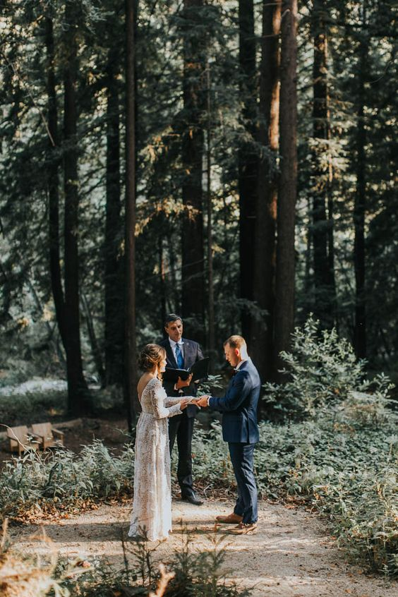 Breathtaking Handmade Elopement at Glen Oaks Big Sur