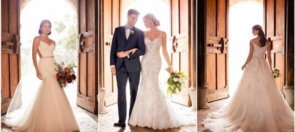 Essense of Australia Fall 2017 Wedding Dress