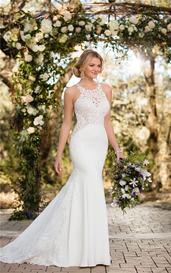 Essense of Australia Fall 2017 Wedding Dress_D2342_01-4