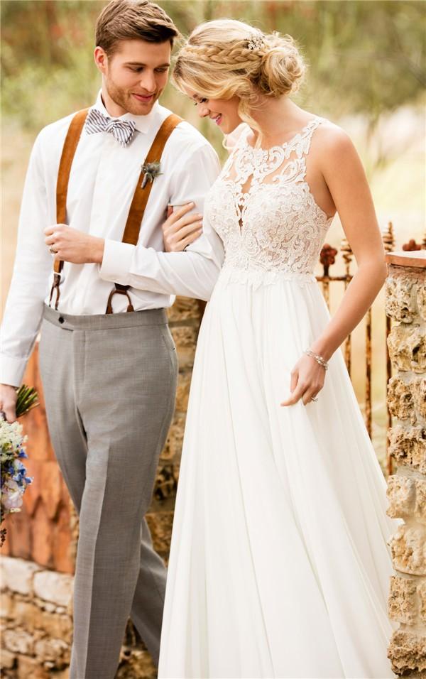 Essense of Australia Fall 2017 Wedding Dress_D2371_01