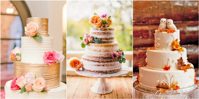 Fall in love with these 29 amazing fall wedding cakes junglespirit Image collections