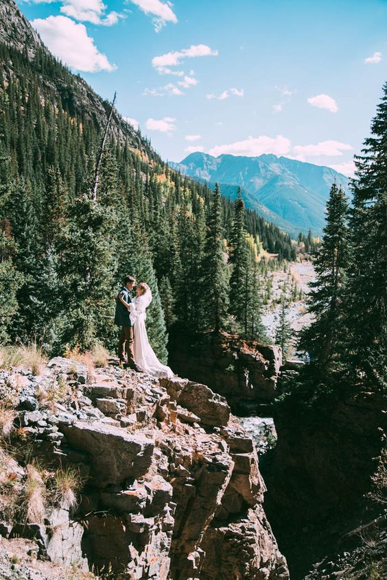 Intimate Southwest Colorado Wedding