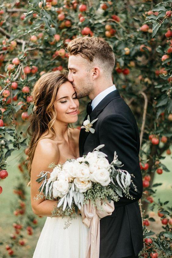 Romantic Farm elopement in Minnesota