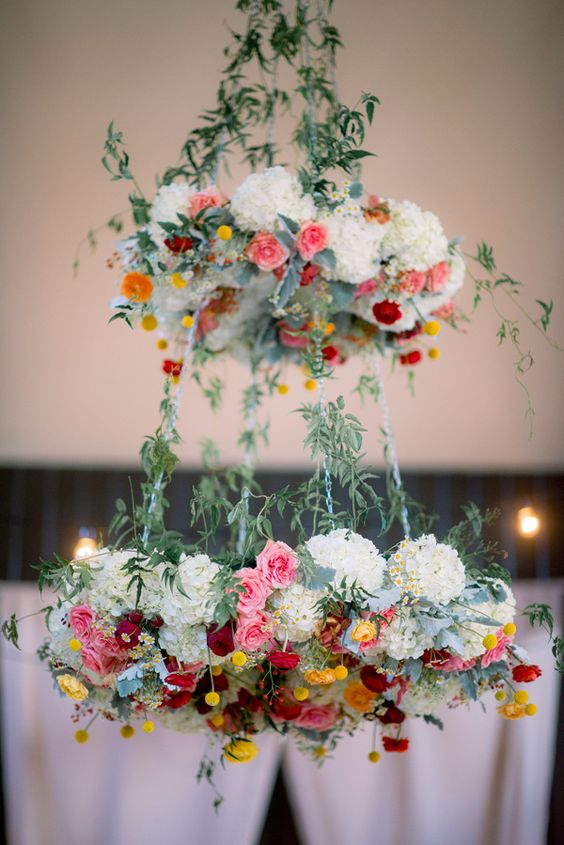 Romantic Southern wedding decoration