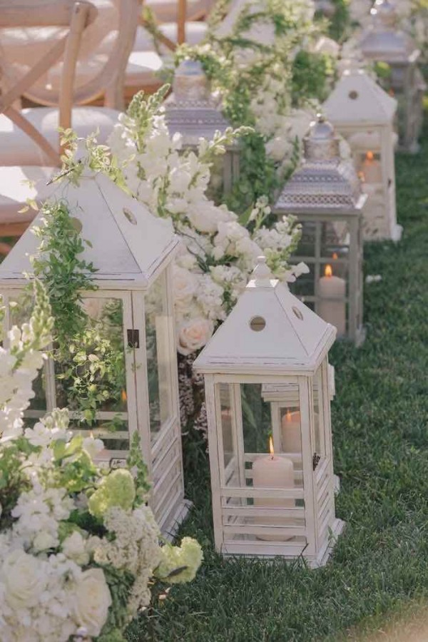 best aisle decoration ideas for fall wedding