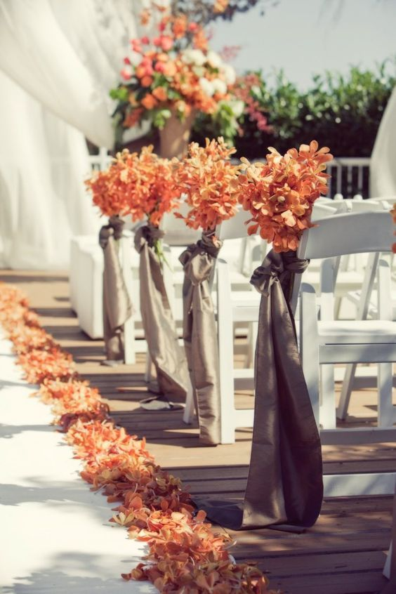 29 awesome wedding aisle decorations for fall wedding page 2 best fall wedding decor idea junglespirit Images