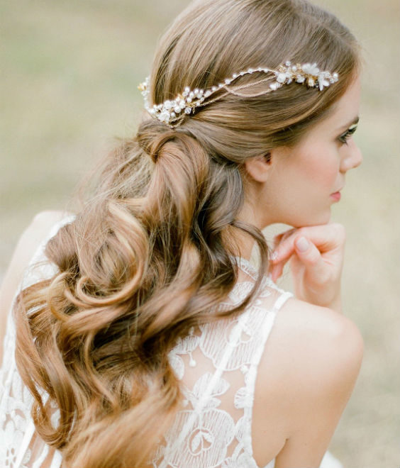 Hairstyle Ideas For Wedding: 21 Inspiring Boho Bridal Hairstyles Ideas To Steal