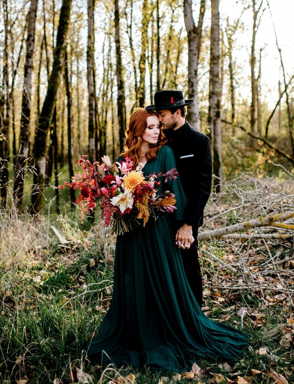 charming outdoor fall wedding