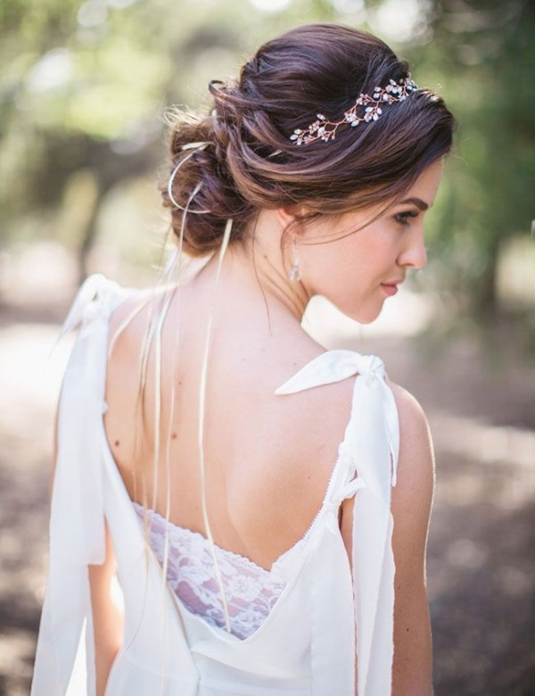 chic boho hairstyles for summer wedding