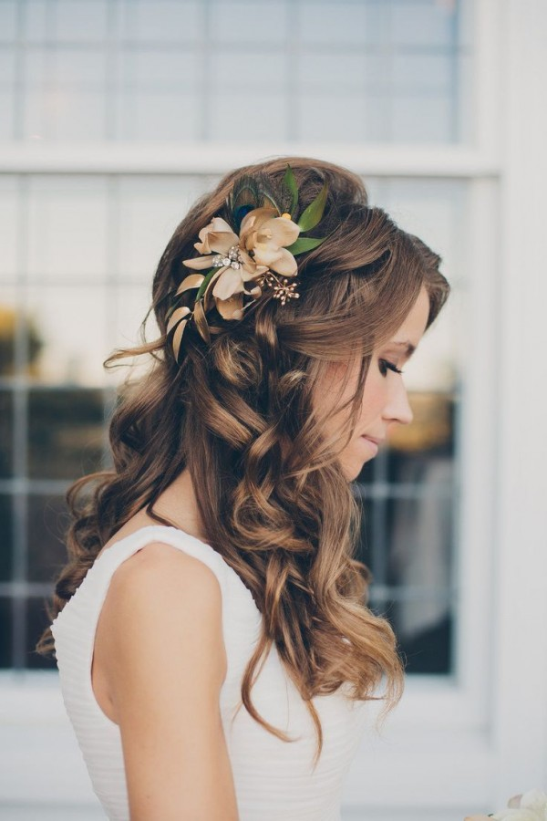 dreamy boho bridal hairstyle to rock