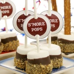 easy weddomg s'more dessert
