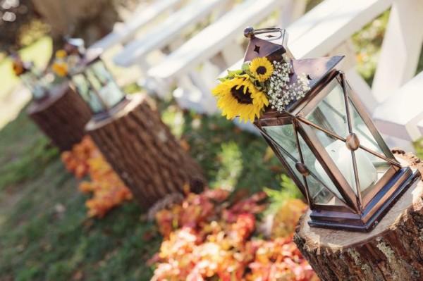 Fabulous Fall Wedding Aisle Decoration Ideas
