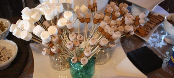 fabulous wedding s'more bar