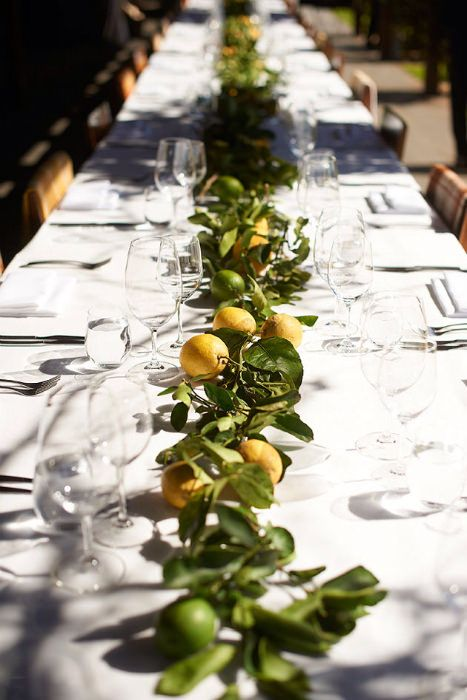 lemon and olive green inspired tuscany wedding
