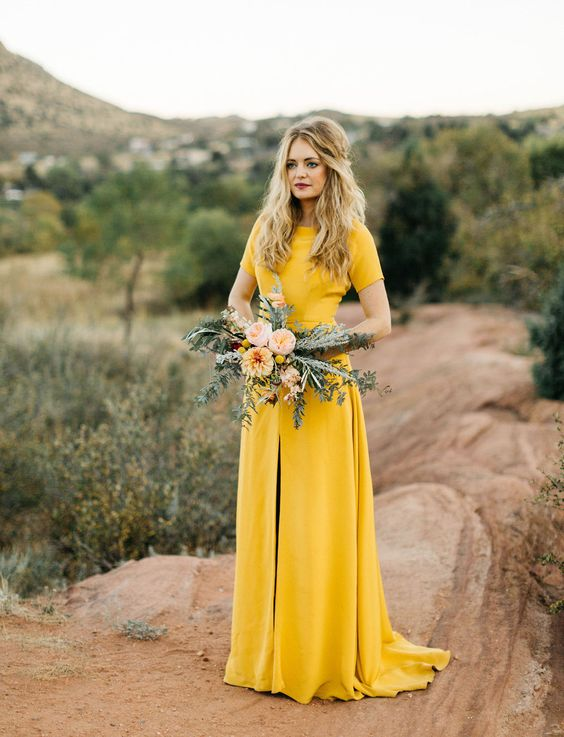 rustic and chic fall elopment