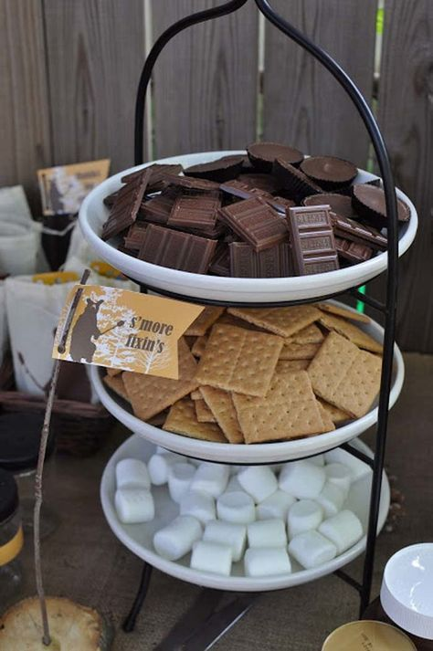 s'more dessert ideas for backyard wedding