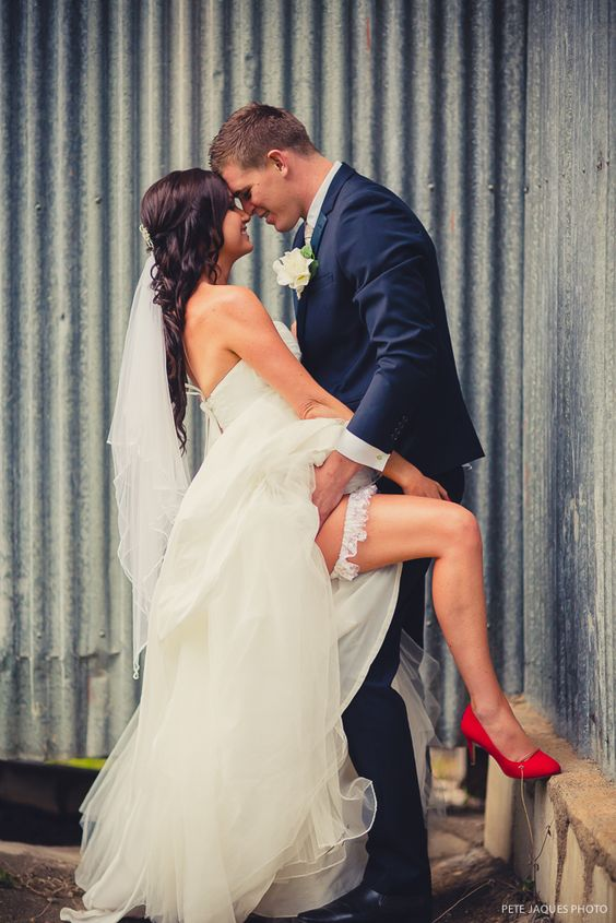 spicy wedding picture