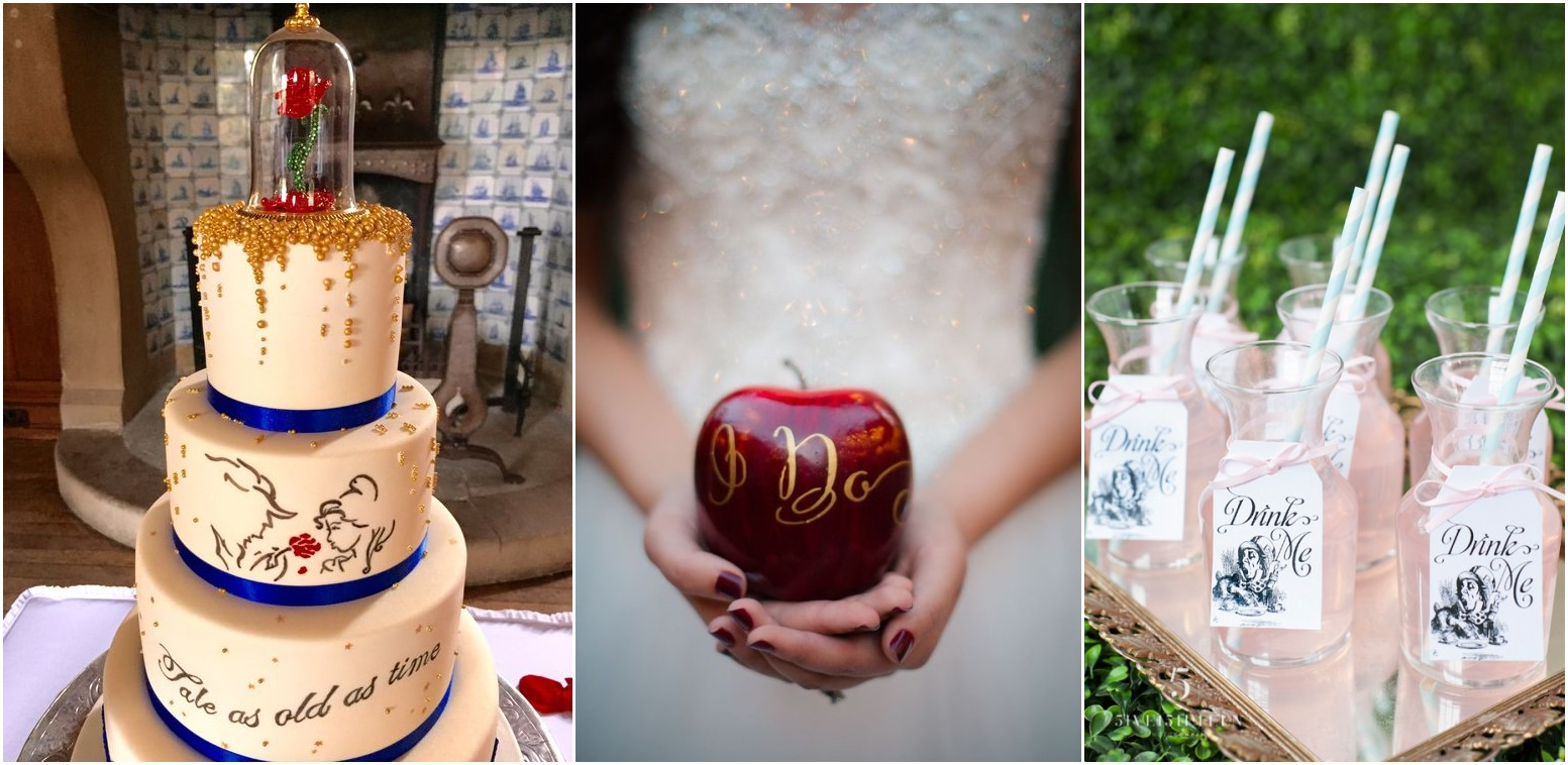 20 Creative and Fun Ideas for a Disney Wedding