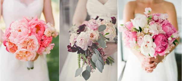 21 Super Picture-perfect Peony Wedding Bouquets You Will Adore