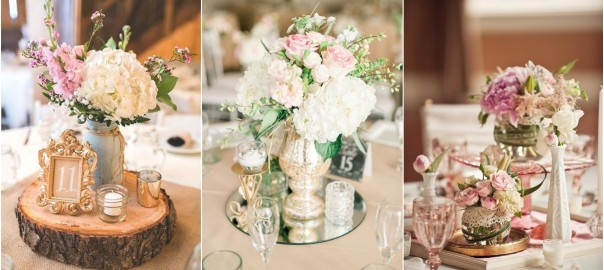 Vintage Wedding Centerpieces | WeddingInclude | Wedding Ideas ...