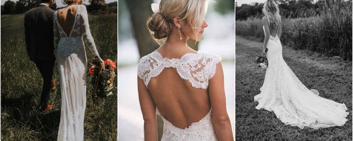 34 Stunning Open Back Wedding Dresses That Wow
